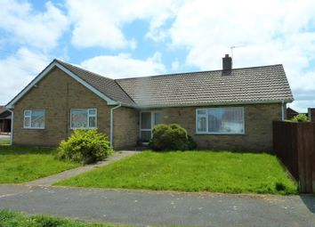 Thumbnail 3 bed detached bungalow for sale in Marine Avenue, Sutton On Sea, Lincs.