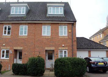 Thumbnail 3 bed semi-detached house for sale in Bennington Drive, Borehamwood