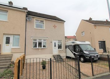 Thumbnail 3 bed end terrace house for sale in Hillside Crescent, Coatbridge