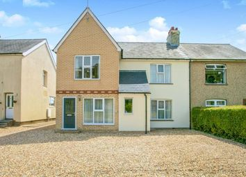 Thumbnail 4 bed semi-detached house for sale in Swaffham Prior, Cambridge, Cambridgeshire