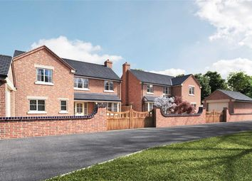 Thumbnail 4 bed detached house for sale in Highfield, Leek
