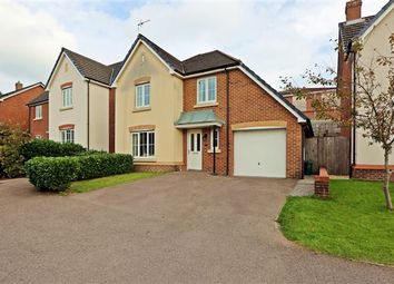 Thumbnail 4 bed detached house for sale in Cadwal Court, Llantwit Fardre