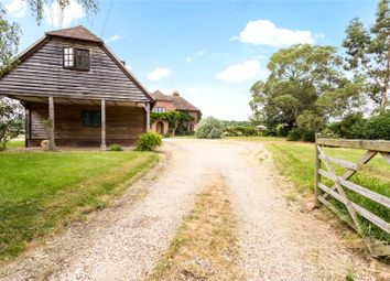 Thumbnail 4 bed detached house for sale in Thornford Road, Headley, Thatcham, Hampshire