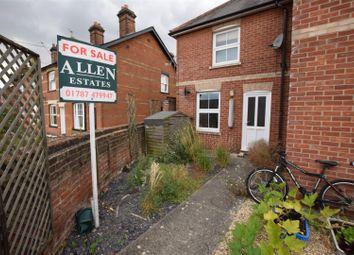 Thumbnail 1 bedroom maisonette for sale in Foundry Lane, Earls Colne, Colchester