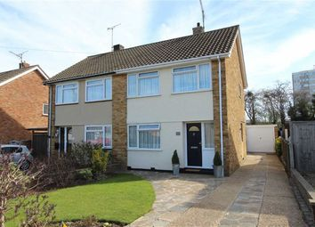 Thumbnail 3 bedroom semi-detached house for sale in Pinewood Avenue, Eastwood, Essex