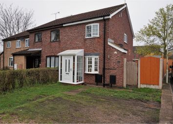 Thumbnail 3 bed end terrace house for sale in Park Road, Wigston