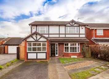 Thumbnail 4 bed detached house for sale in Soham Close, Lower Earley, Reading