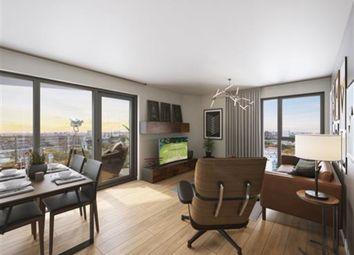 Thumbnail 2 bed flat for sale in Creekside, London