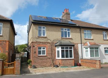 Thumbnail 5 bed semi-detached house for sale in Oval Gardens, Alverstoke, Gosport