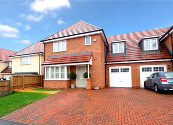 Thumbnail 4 bed semi-detached house for sale in Cunningham Way, Leavesden, Watford