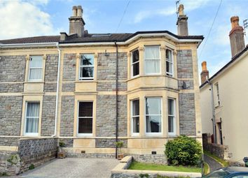 Thumbnail 5 bed semi-detached house for sale in Claremont Road, Bishopston, Bristol