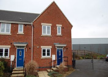 Thumbnail 3 bed end terrace house to rent in Milnhay Road, Langley Mill, Nottingham, Derbyshire