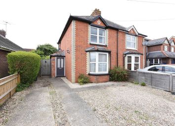 Thumbnail 2 bed semi-detached house for sale in Northfield Road, Thatcham