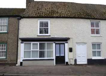 Thumbnail 2 bed terraced house for sale in Railway Road, Downham Market