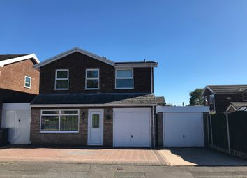 Thumbnail 4 bed detached house for sale in Viscount Road, Burntwood