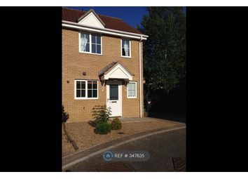 Thumbnail 2 bed semi-detached house to rent in Speedwell Way, Norwich