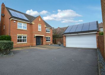 Thumbnail 4 bed detached house for sale in Turnstone Close, Coton Park, Rugby, Warwickshire