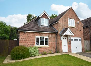 Thumbnail 4 bed detached house for sale in Kingsley Gardens, Ottershaw, Chertsey