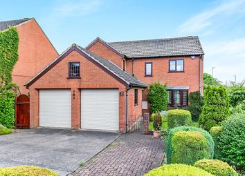Thumbnail 4 bed detached house for sale in Burr Tree Drive, Leeds