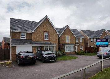 Thumbnail 4 bed detached house to rent in Blackbird Road, Corby