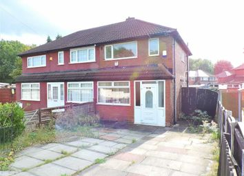 Thumbnail 2 bedroom semi-detached house for sale in Longford Road West, Levenshulme, Manchester