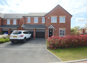 Thumbnail 5 bedroom detached house for sale in Darwin Drive, Leyland