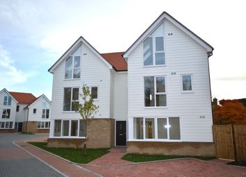 Thumbnail 4 bed semi-detached house for sale in The Old Goods Yard, Neames Forstal, Faversham