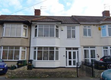 Thumbnail 3 bed terraced house to rent in Stoneleigh Road, Knowle, Bristol