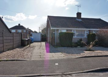 Thumbnail 2 bed semi-detached bungalow for sale in Belmont Road, Nottingham