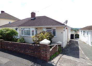 Thumbnail 2 bed semi-detached bungalow for sale in St. Margarets Road, Plympton, Plymouth