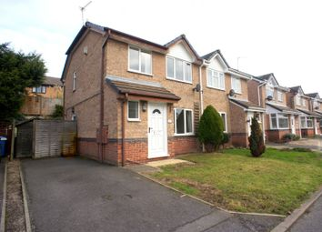 Thumbnail 3 bed semi-detached house to rent in Gleadsmoss Lane, Oakwood, Derby