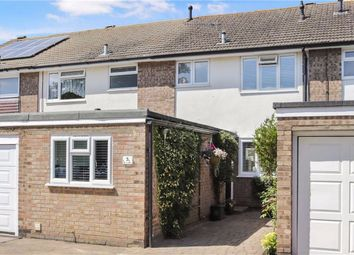 Thumbnail 3 bed terraced house for sale in The Willows, Byfleet, Surrey