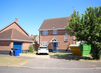 Thumbnail 3 bed detached house to rent in Bluebell Avenue, Bury St. Edmunds