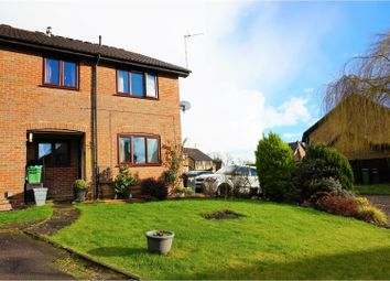 Thumbnail 2 bedroom end terrace house for sale in Kirkstall Court, Reading