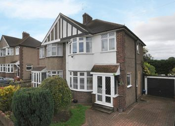 Thumbnail 3 bed semi-detached house for sale in Mornington Avenue, Bickley, Bromley