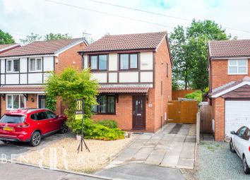 Thumbnail 3 bed detached house for sale in Village Croft, Euxton, Chorley