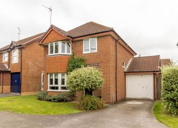 Thumbnail 4 bedroom detached house for sale in Harris Close, Woodley, Reading