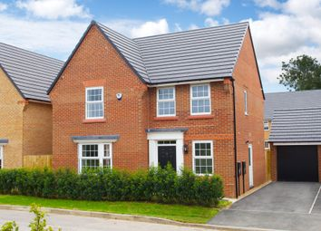 "Thumbnail 4 bed detached house for sale in ""Bradbury"" at Maw Green Road, Crewe"