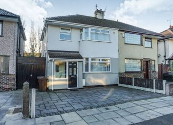 Thumbnail 3 bed semi-detached house for sale in Mostyn Avenue, Liverpool