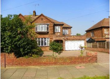 Thumbnail 5 bed semi-detached house for sale in Midfield Way, Orpington, London