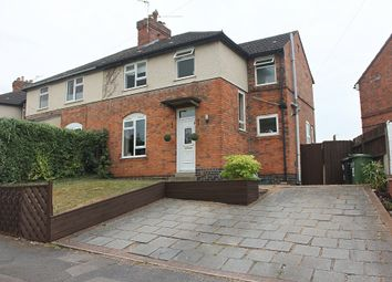 Thumbnail 3 bed semi-detached house for sale in Park Hill Drive, Aylestone, Leicester