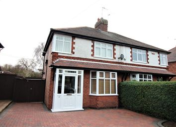 Thumbnail 3 bed semi-detached house for sale in Beryldene Avenue, Watnall, Nottingham
