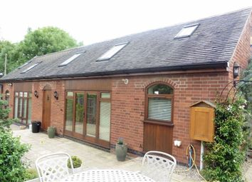 Thumbnail 3 bed barn conversion for sale in Kirkby Road, Barwell, Leicester