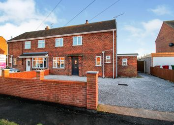 Thumbnail 3 bed semi-detached house for sale in Donville Road, Eastoft, Scunthorpe
