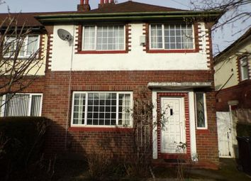 Thumbnail 3 bedroom semi-detached house for sale in Seabrook Road, Manchester, Greater Manchester