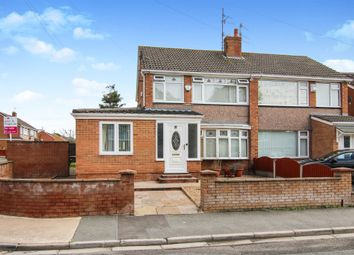 Thumbnail 3 bedroom semi-detached house for sale in Christleton Close, Prenton