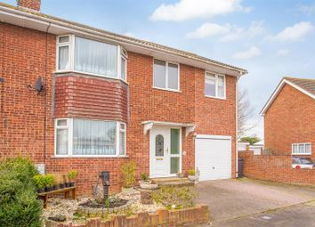 Thumbnail 4 bedroom semi-detached house for sale in Wantsume Lees, Sandwich