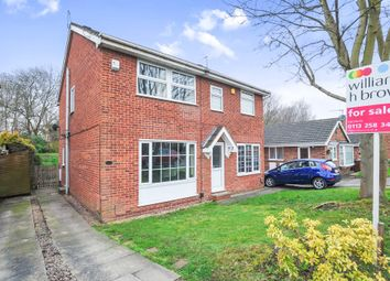 Thumbnail 3 bed semi-detached house for sale in Abbeydale Vale, Leeds