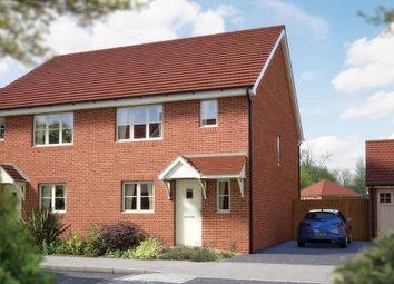 """Thumbnail 3 bedroom semi-detached house for sale in """"The Southwold"""" at Matthewsgreen Road, Wokingham"""