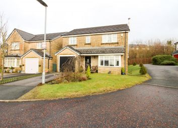Thumbnail 4 bed detached house for sale in Hawfinch Close, Bacup